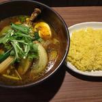 スープカレー 特選チキン野菜