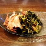 小松菜と豆苗のお浸し