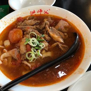 牛肉麺(キュウ伍牛肉麺)