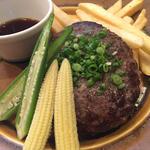 尾崎牛ハンバーグステーキ