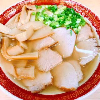 チャーシュー麺メンマトッピング(天広軒)