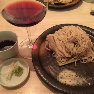 もりそば 大盛(関 蕎麦とワイン)