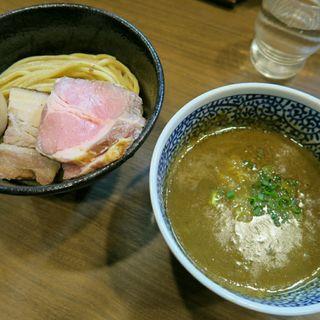 味玉極濃煮干しつけ麺(煮干しつけ麺 宮元 (みやもと))