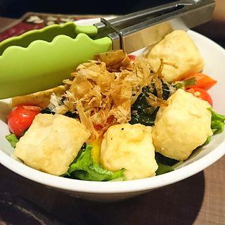 ヘルシーな豆腐サラダ(仲町ガバチョ)