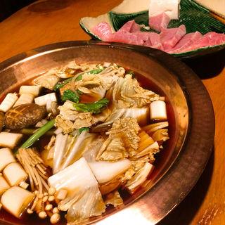 ねぎま鍋(浅草一文 別館 (あさくさいちもん))
