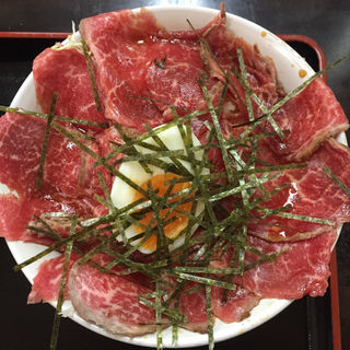ローストビーフ丼(じゅうじゅう亭 )