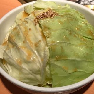 旨塩キャベツ(焼肉屋さかい 京都一乗寺店 (ヤキニクヤサカイ))