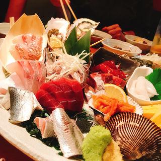 お刺身六点盛スペシャル(魚金 池袋店 )