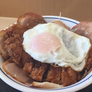 増し増しチャーシューエッグチキンカツ丼(かつや 大阪泉佐野店 )