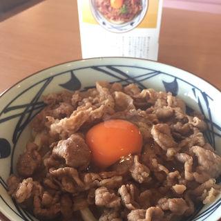 牛すき釜玉 並(丸亀製麺泉佐野店 )
