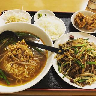 ニラレバー定食(台湾料理 福祥閣)