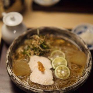 鳥幸 冷麺(スペイン坂 鳥幸 )