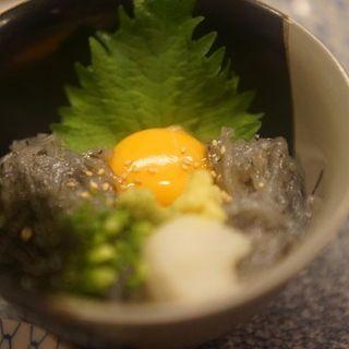 生しらす御飯(銀座魚勝 (GINZA UOKATSU))