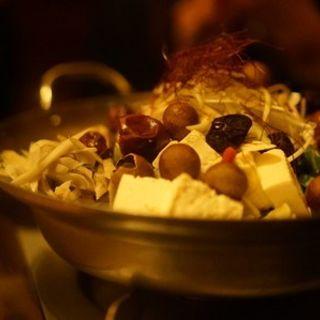 特製薬膳スープの国産牛もつ鍋(一粋 恵比寿店)