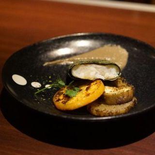 白身魚のタプナードソース(アンチョビ)(鉄板焼 grow 六本木店 )