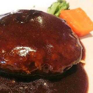 ハンバーグステーキ(京洋食文吉 )
