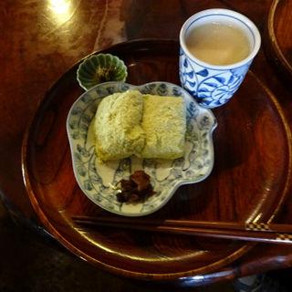 力餅(うぐいすきなこ)(甘酒茶屋 (あまざけちゃや))