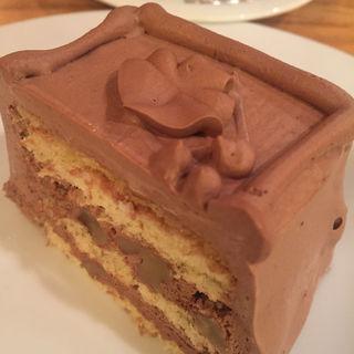 チョコレートケーキ(トップスアンドグラナータ)