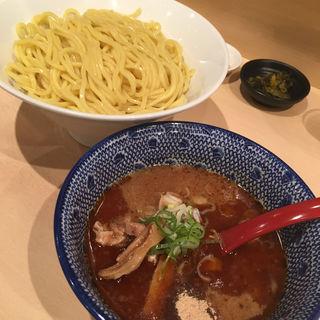 海老味噌つけ麺(北海道恵比寿 立川ラーメンスクエア店 (【旧店名】恵比寿 supported by蔦亭))