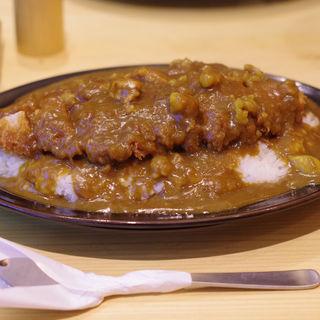 かつカレー(豚屋とん一  姫路駅前)