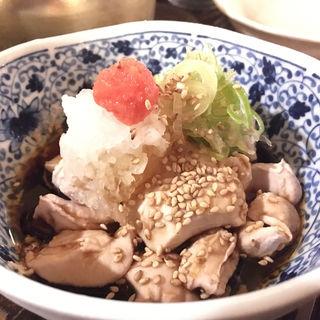 秋鮭白子ポン酢(花葉根 )