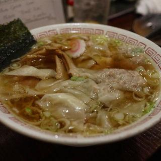 ワンタンメン(ワンタン倍)(久慈清商店 (くじせいしょうてん))