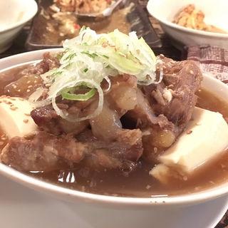 豚バラ軟骨のトロ煮(花葉根 )