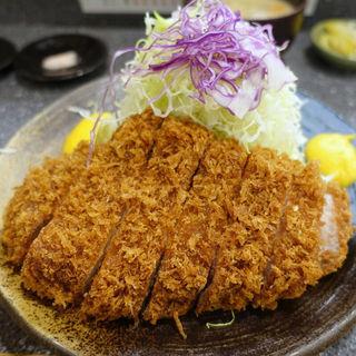 特上ロースかつ定食(とんかつ大門 檍 (トンカツダイモン あおき))