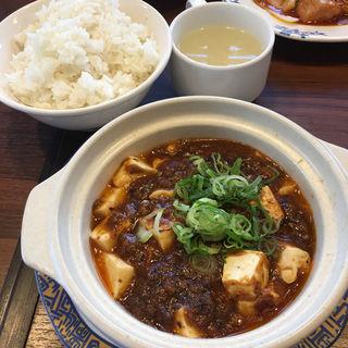 黒豆板醤のコク旨マーボ豆腐ランチ(バーミヤン 西宮北口 )
