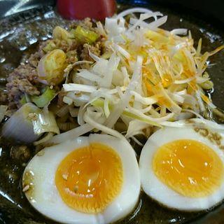黒ごま担々麺(かねさん食堂)