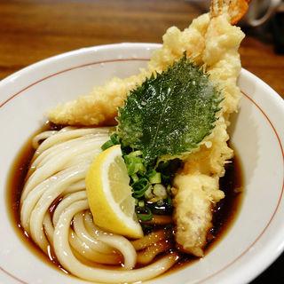 海老天ぶっかけ(JUN大谷製麺処 (ジュンオオタニセイメンショ))