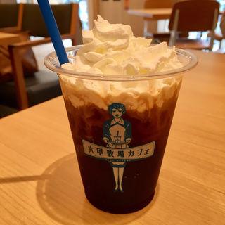 アイスウインナーコーヒー(六甲牧場カフェ ハーバーランド店 )