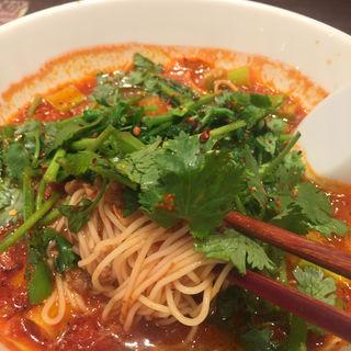 パクチーのエスニックトマト麺(太陽のトマト麺Next サンシャインシティ (タイヨウノトマトメンネクスト))