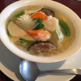 海鮮野菜タンメン(塩味)(シルクロード )