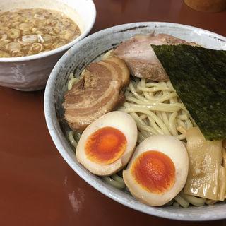 豚骨魚介つけ麺(らぁめんたむら)