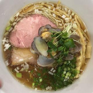 琥珀醤油麺(らぁめんこはく )