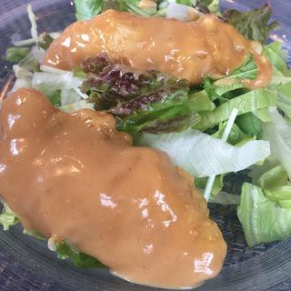ヒラマサのサラダ(チャイニーズレストラン ウチダテイ )