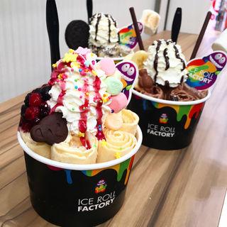 アイスクリーム(アイスロールファクトリー京都)
