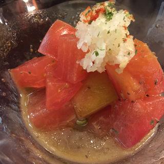 トマトサラダ(しゃぶせん 銀座2階店)