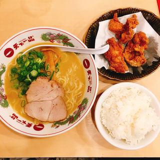 唐揚げ定食(天下一品 蒲田店 (てんかいっぴん))