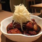 鳥肝煮(二◯加屋長介 中目黒店)