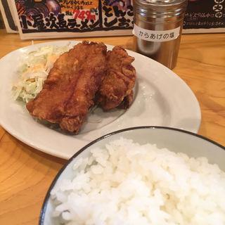 からあげセット(らーめん 麺虎 )