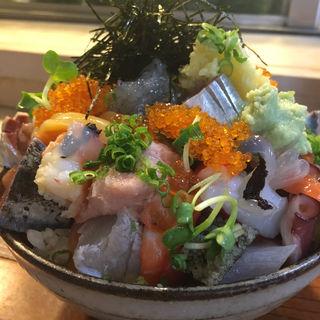 上バラ海鮮丼(江戸富士 )