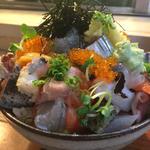 上バラ海鮮丼