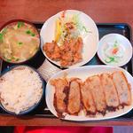 鍋貼、スープ餃子定食