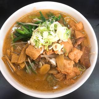 スタミナラーメン(もつ煮 太郎 (うわさの太郎))