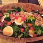 有機野菜の大きなサラダ(ランチセット)