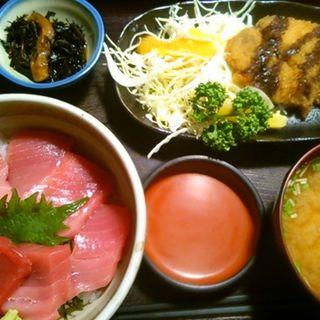 Mセット(マグロ丼&マクロカツセット)(博多魚がし 市場会館店 )
