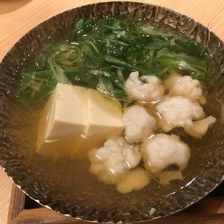 鱧と九条ねぎの小鍋(京乃菜 (キョウノナ))