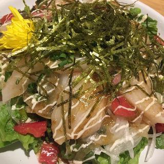 海鮮サラダ(個室居酒屋 しゃ門 浜松町店)